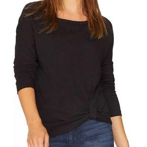 Sanctuary Women's Twisted Long Sleeve T-Shirt  XL